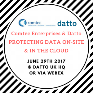 Protecting data on-site and in the cloud